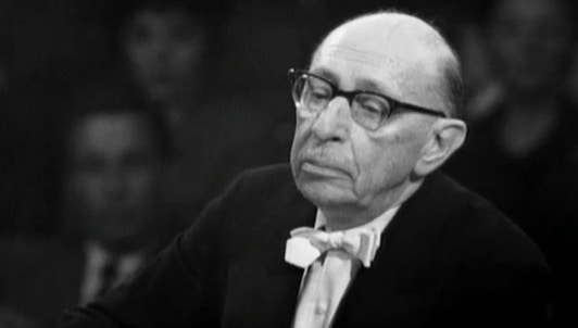 Stravinsky dirige Stravinsky : L'Oiseau de feu, Symphonie des Psaumes