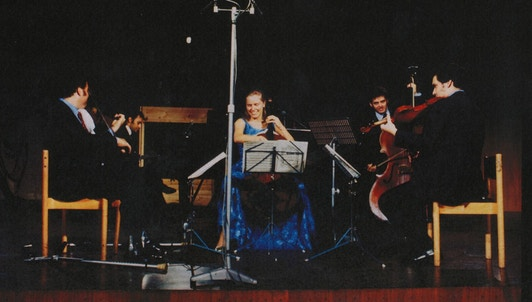 "Perlman, Zukerman, du Pré, Mehta, and Barenboim rehearse and perform Schubert's ""Trout"" Quintet"