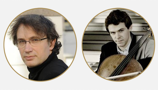 Thierry Escaich and Christian-Pierre La Marca play Bach, Escaich, Fauré, and Ligeti