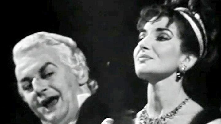 Tito Gobbi et Maria Callas chantent Tosca de Puccini