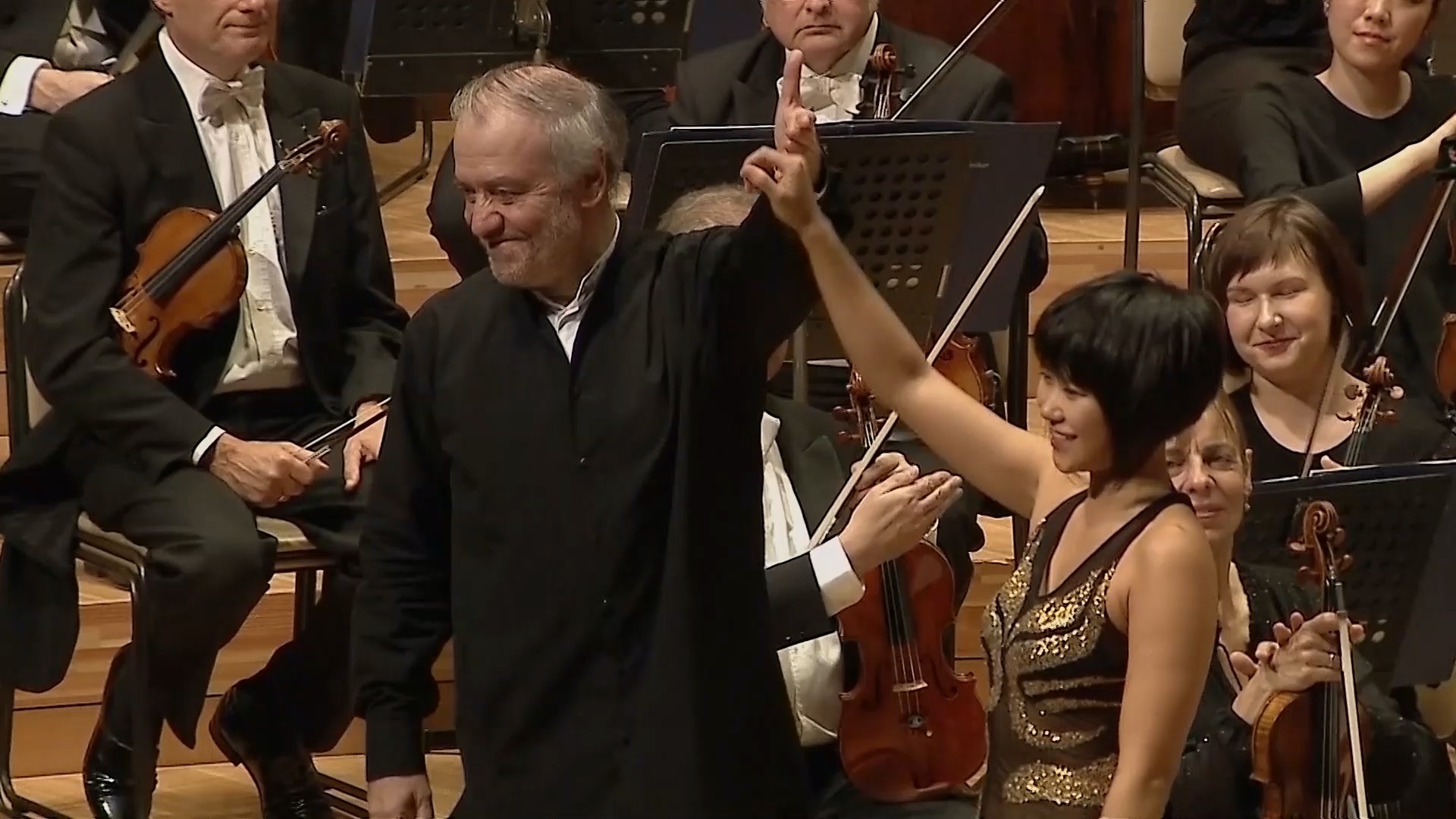 Valery Gergiev conducts Brahms and Mahler – With Yuja Wang