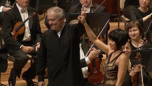 Valery Gergiev conducts Brahms and Mahler — With Yuja Wang