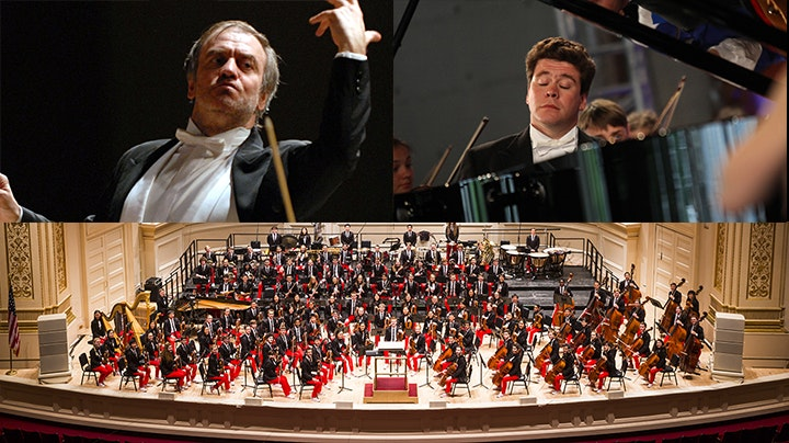 Valery Gergiev conducts Debussy, Rachmaninov and Prokofiev – With Denis Matsuev