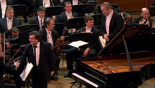 Valery Gergiev and Sergei Babayan in a Prokofiev program