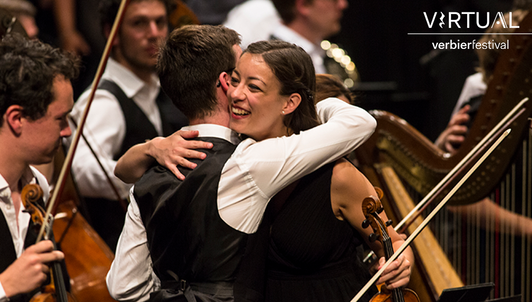 Un día con la Orquesta del Festival de Verbier II: Captaciones inolvidables en el Festival de Verbier
