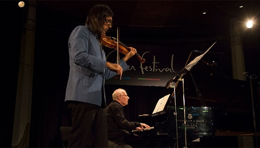 Leonidas Kavakos and Ferenc Rados perform Mozart, Bartók and Schumann