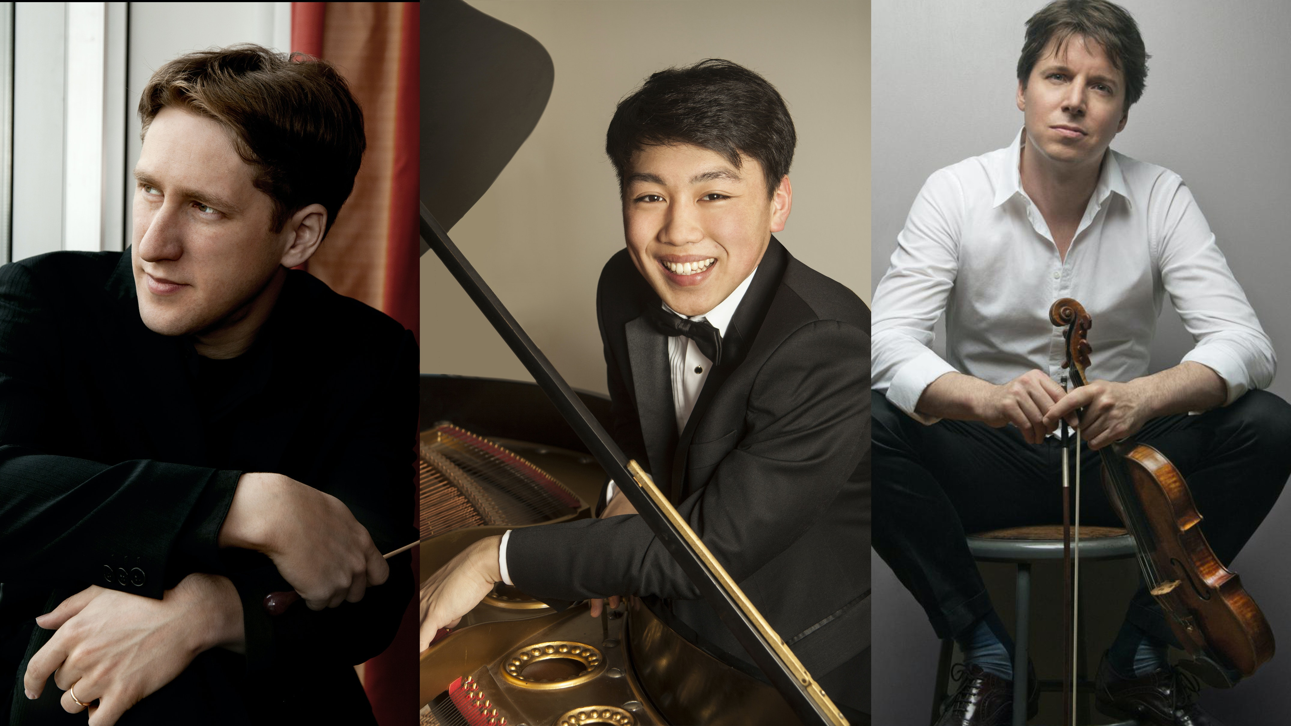 Joshua Weilerstein conducts Saint-Saëns and Bizet – With Joshua Bell and George Li