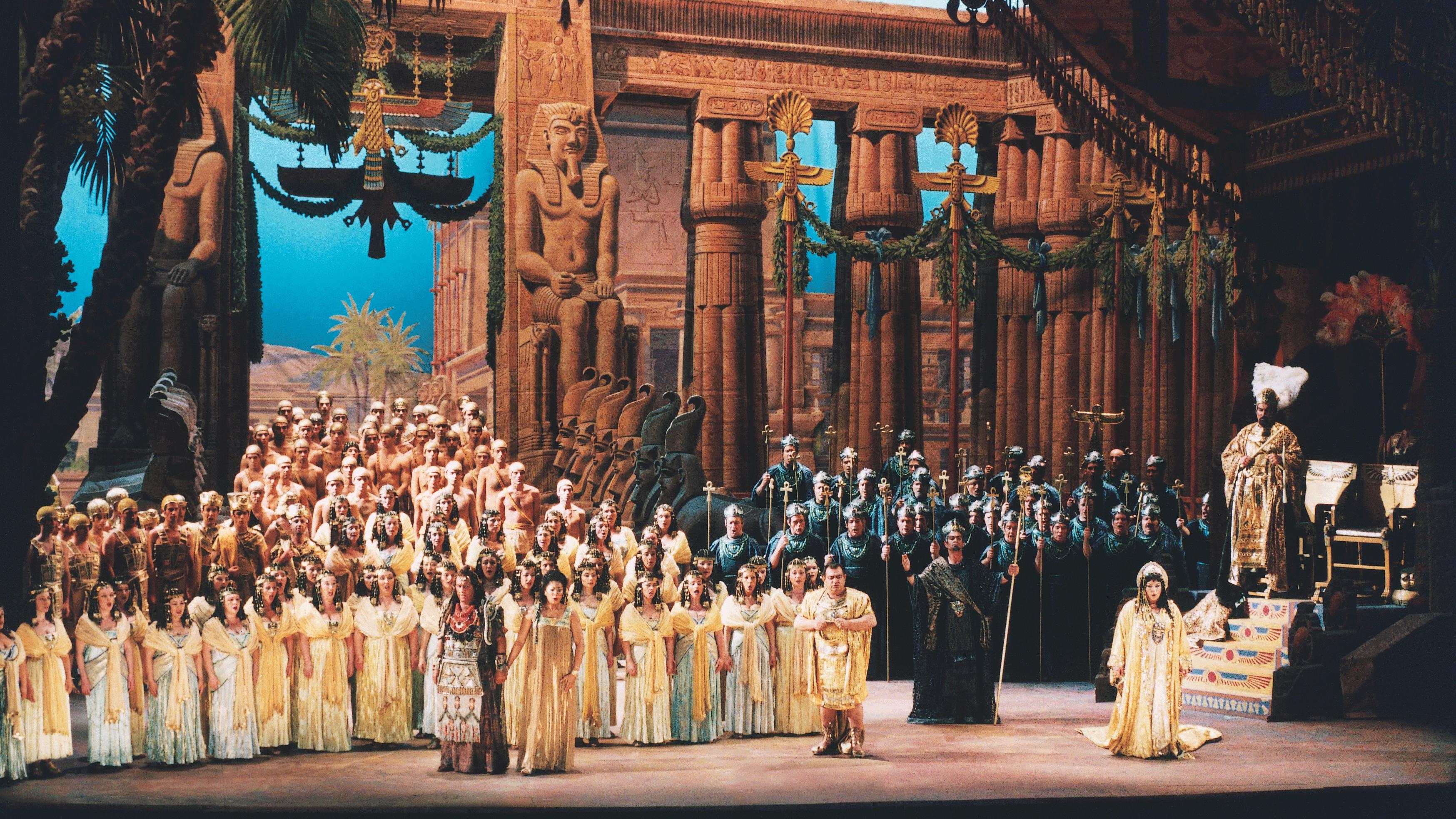 Opera Aida De Verdi Gran Teatre Del Liceu Medici Tv