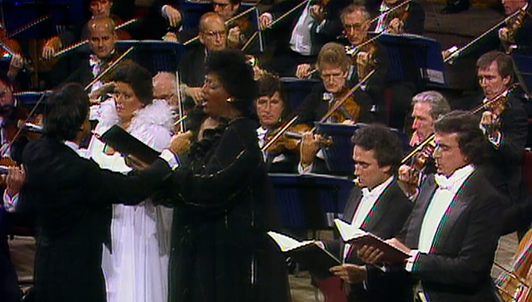 Claudio Abbado conducts Verdi's Requiem — With Jessye Norman, José Carreras, Margaret Price, and Ruggero Raimondi