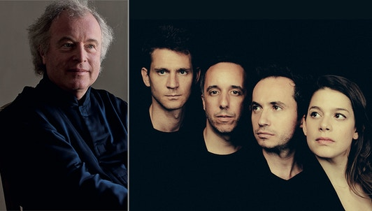 A day with András Schiff and Ébène Quartet