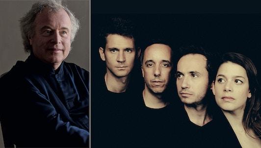 Journée avec András Schiff et Quatuor Ébène