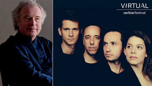 A day with Sir András Schiff and Ébène Quartet I: Brand-new moments at the Virtual Verbier Festival
