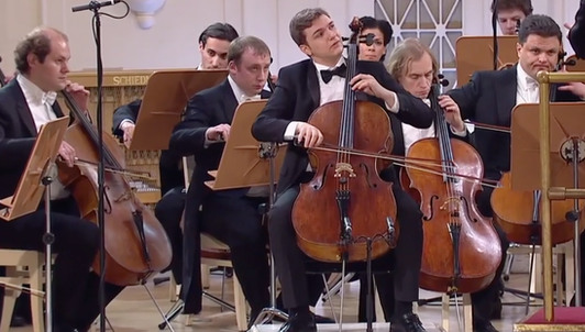 XV International Tchaikovsky Competition: Cello, Final Round (I/III)