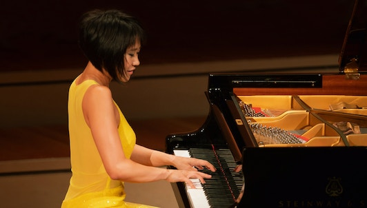 Yuja Wang plays Rachmaninov, Scriabin, and Prokofiev