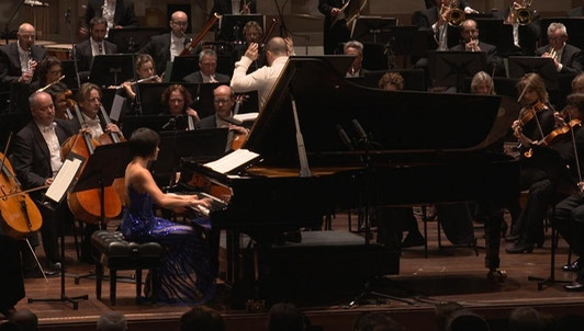 Yuja Wang hace vibrar Róterdam con Yannick Nézet-Séguin