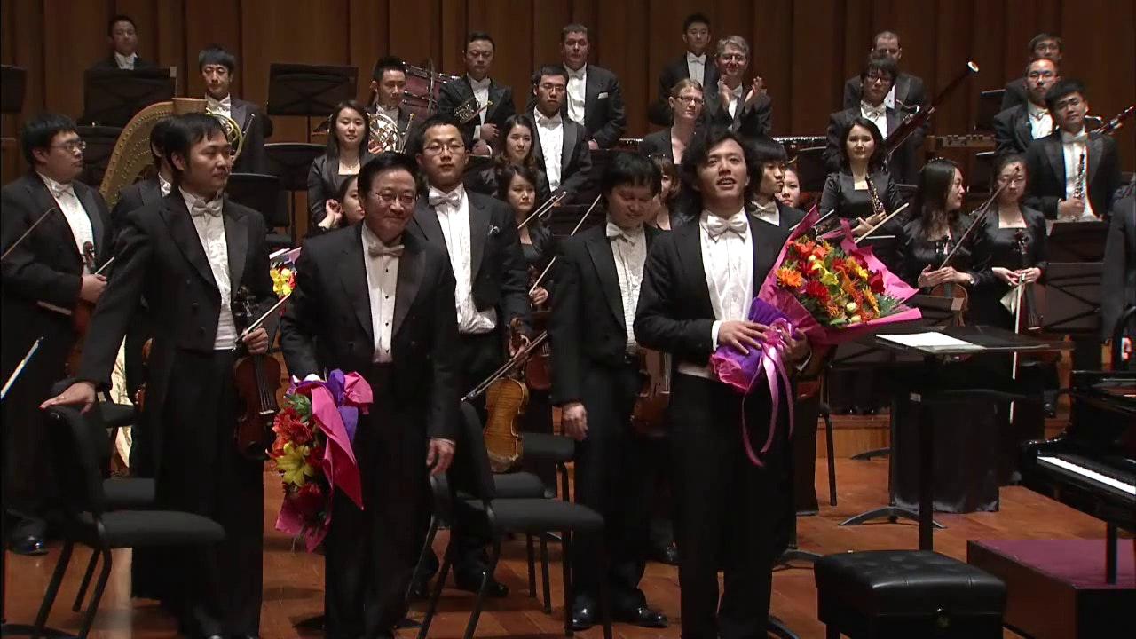 Yundi and Zuohuang Chen perform Liszt