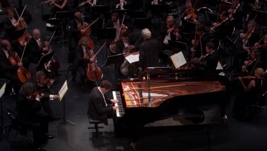 Denis Matsuev and Yuri Temirkanov perform Prokofiev's Piano Concerto No. 3