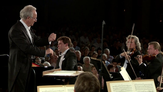 Yuri Temirkanov et Denis Matsuev dans le Concerto pour piano de Tchaïkovski et la Symphonie n°4 de Brahms